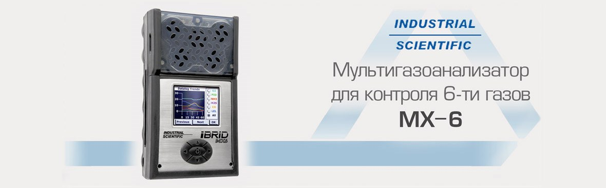 Мультигазоанализатор MX-6